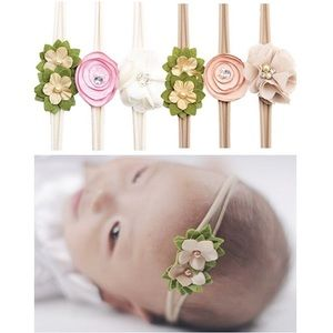 Other - 6 Flower Headband Bundle